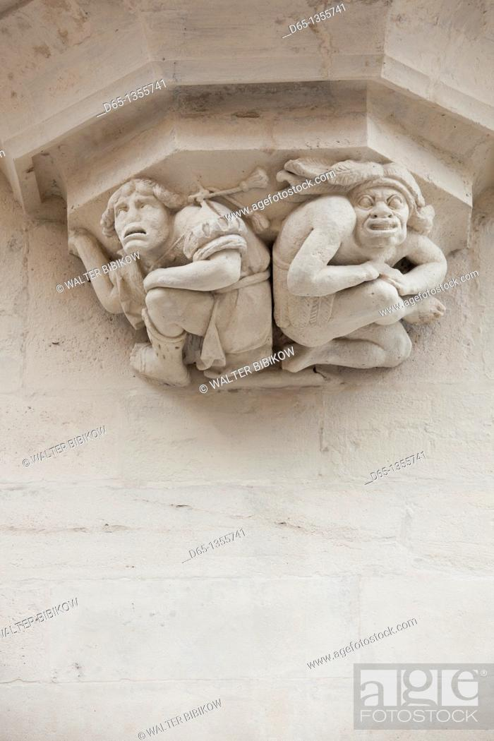Stock Photo: France, Meurthe-et-Moselle, Lorraine Region, Nancy, Palais Ducal palace, exterior.