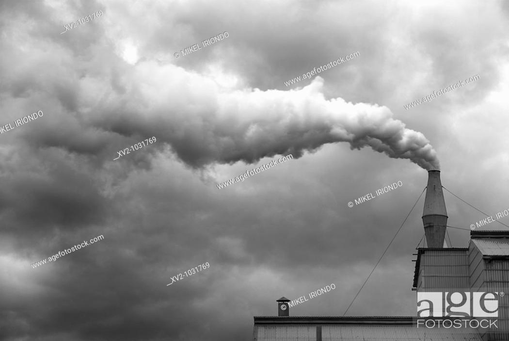 Stock Photo: Industry. Zorrozaurre, Bilbao, Basque Country, Spain.