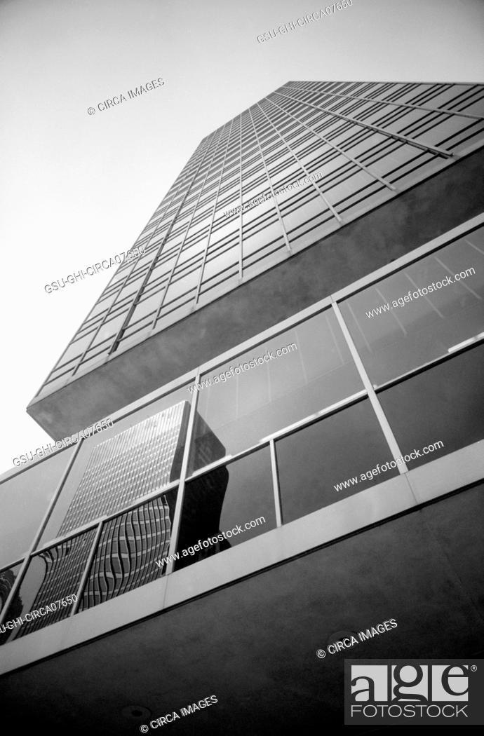Stock Photo: Lever Building, Low Angle View, New York City, New York, USA, photograph by Thomas J. O'Halloran, 1957.