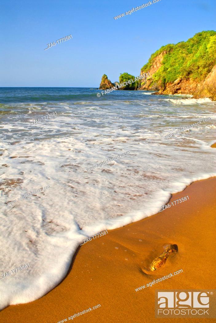 Imagen: Playa de Uva, tropical beach in Paria Peninsula in the eastern coast of Venezuela.