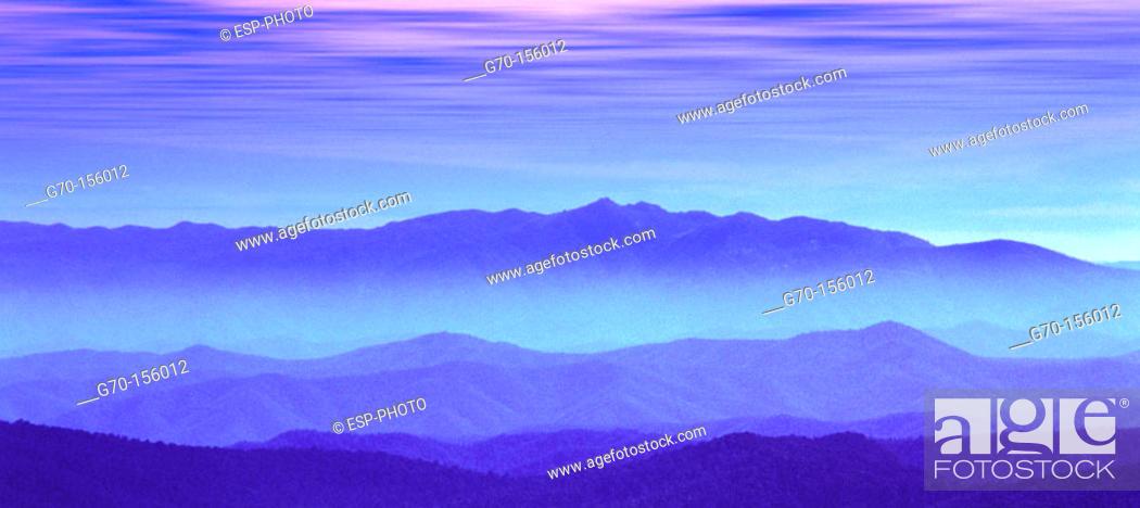 Stock Photo: High Country Range. Victoria. Australia.