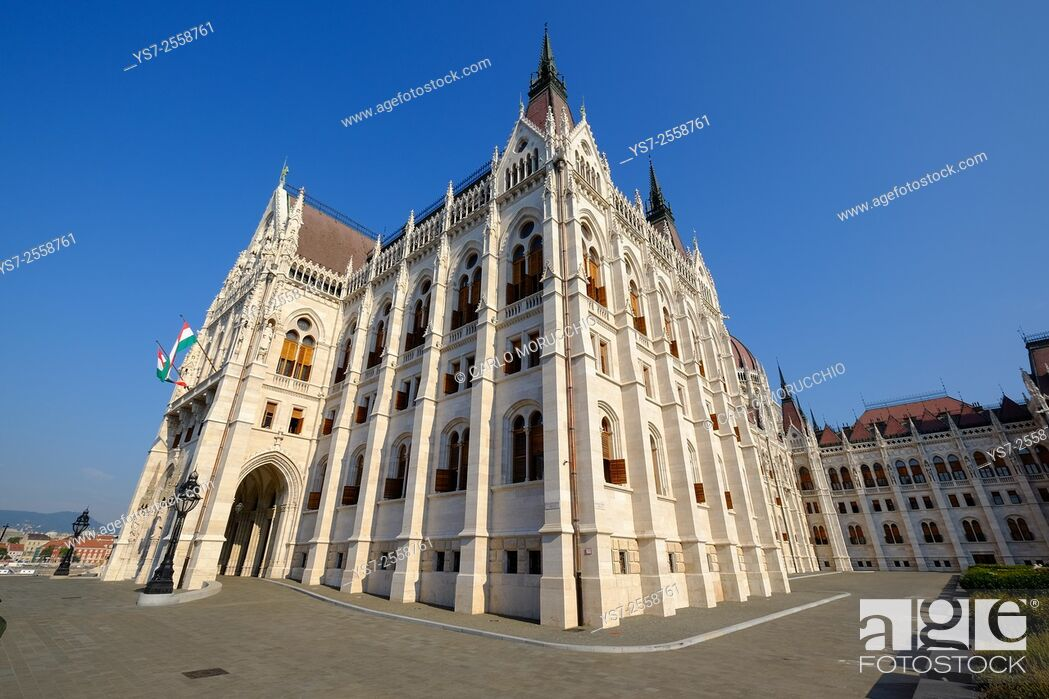 Stock Photo: The Hungarian Parliament Building, Budapest, Hungary, Europe.