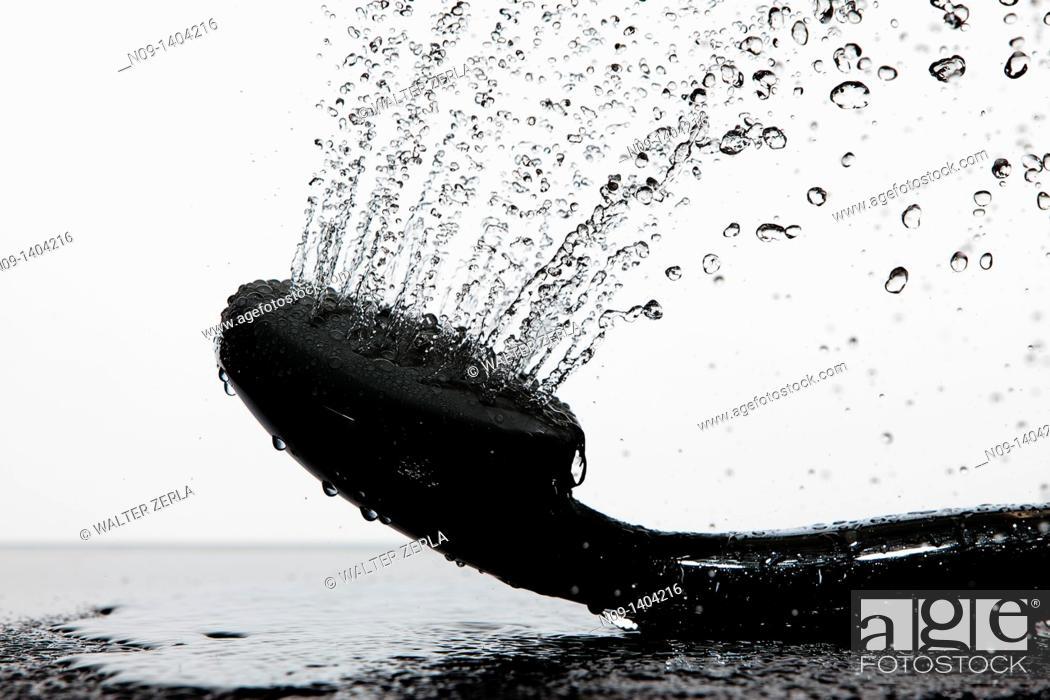 Stock Photo: Shower.