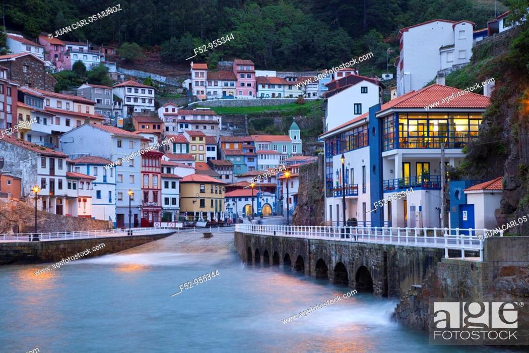 Stock Photo: Cudillero. Cantabrian coast. Asturias. Spain.
