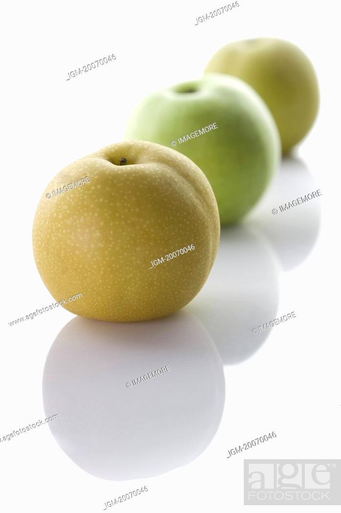 Stock Photo: Dangshan Pear, Asian Pear, Pear.