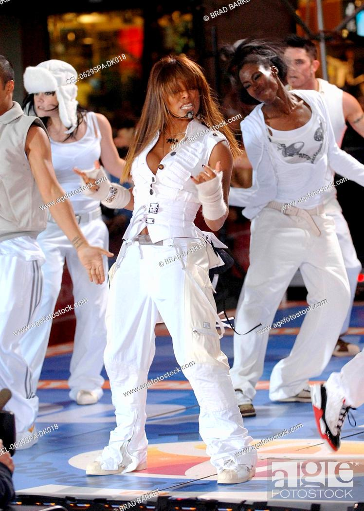 Stock Photo: Janet Jackson on stage for NBC Today Show Concert with JANET JACKSON, Rockefeller Center, New York, NY, September 29, 2006.