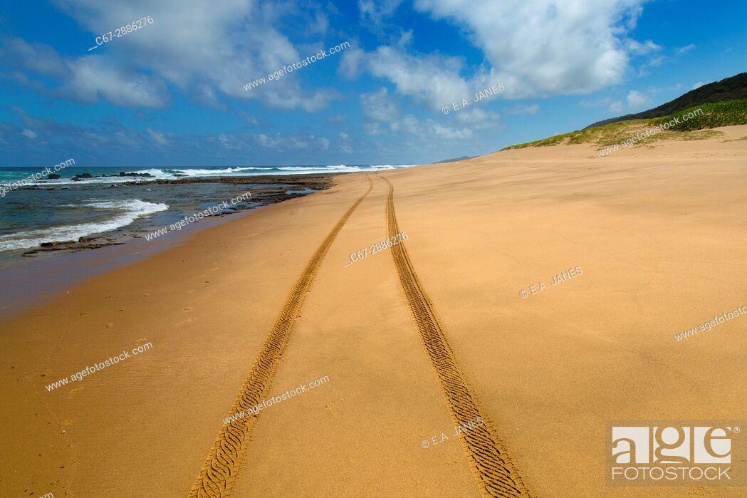 Stock Photo: Thonga Beach Indian Ocean coast of Maputuland in KwaZulu-Natal.