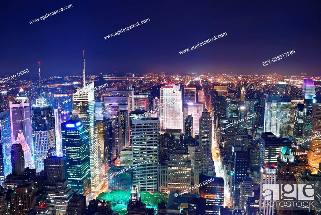 Stock Photo: Manhattan.