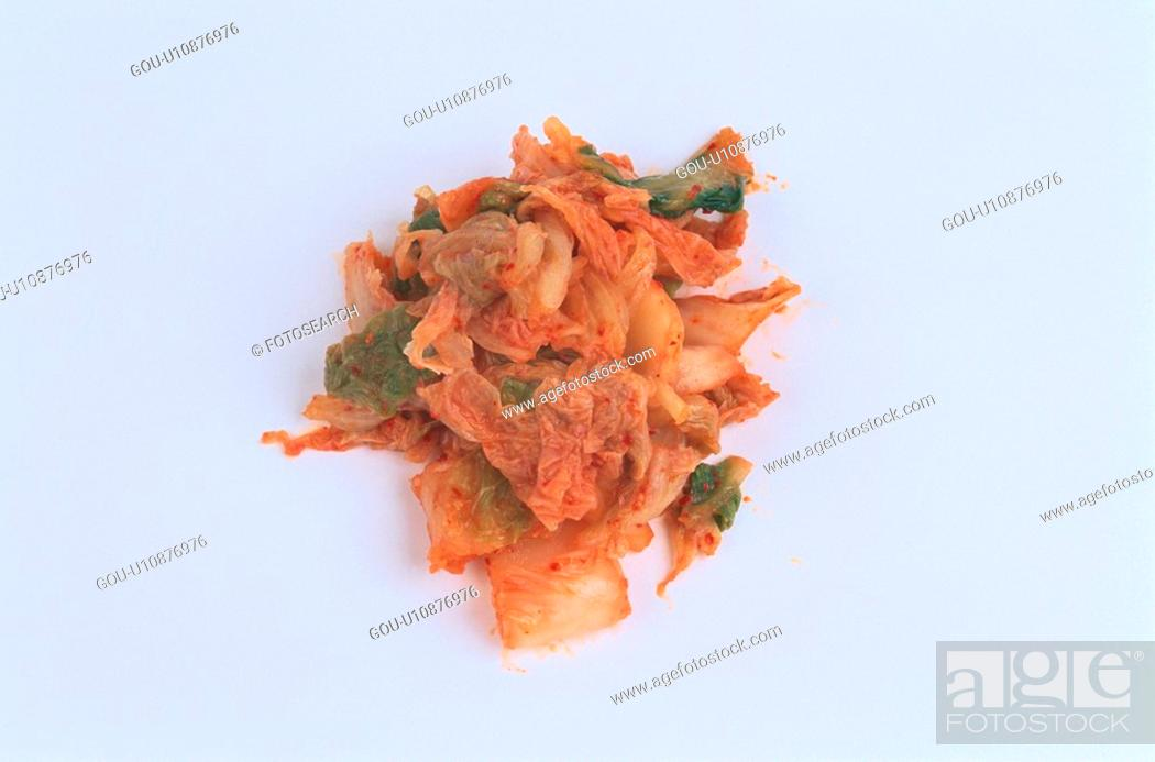 Stock Photo: Kimchi.