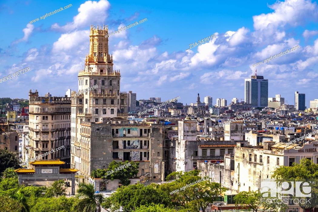 Imagen: Syline of Havana, Republic of Cuba, Caribbean, Central America.
