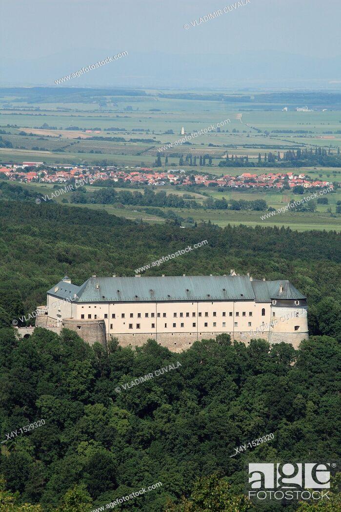 Stock Photo: The medieval castle Cerveny Kamen, Slovakia.