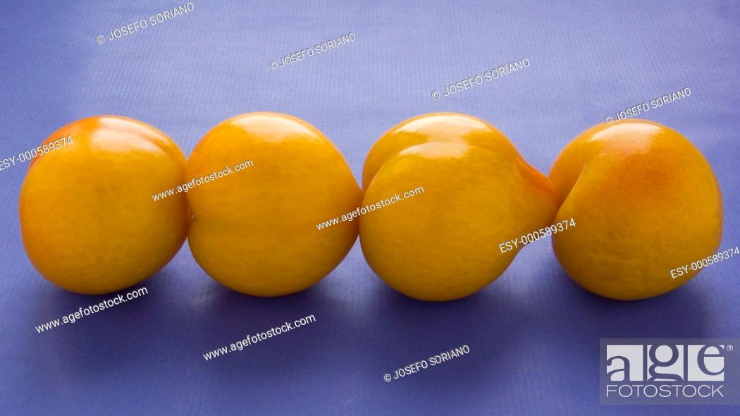 Stock Photo: plums,.