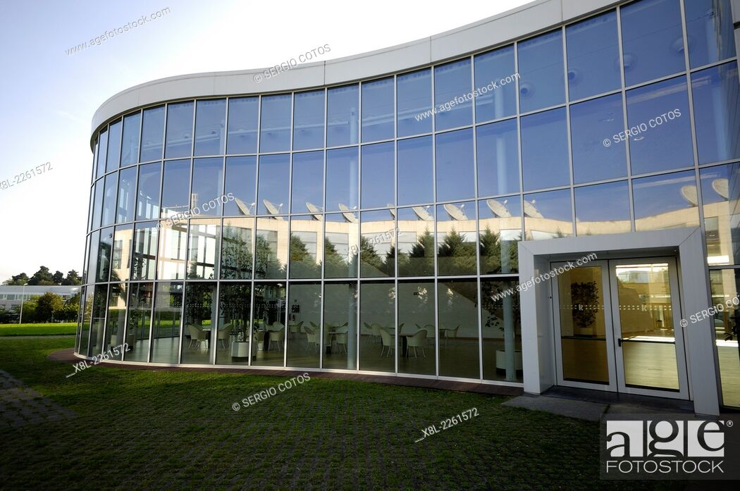 Stock Photo: offices in the technological park Zuatzu, San Sebastian, Guipuzcoa.