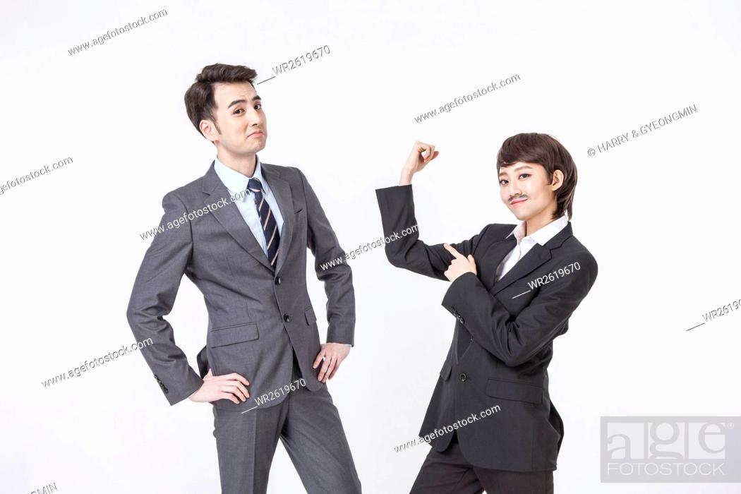 Imagen: Confident business people.