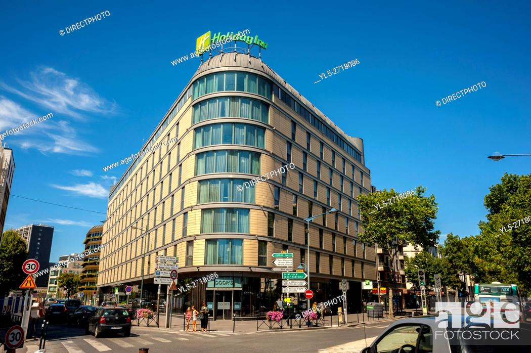 Imagen: Paris, France, Holiday Inn Hotel, Porte de Clichy (Valode & Pistre Architects).