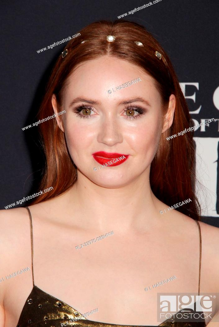 """Stock Photo: Karen Gillan 02/13/2020 The World Premiere of """"""""The Call of the Wild"""""""" held at The El Capitan Theatre in Los Angeles, CA. Photo by I."""