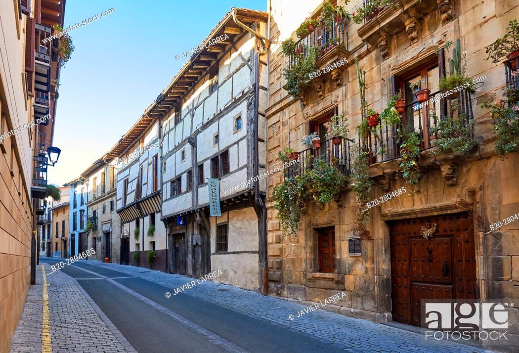 Imagen: Ardixarra House, Interpretation Center of the Middle Ages, Medieval town, Segura, Gipuzkoa, Basque Country, Spain, Europe.