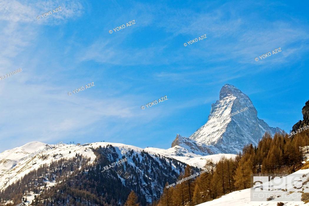 Stock Photo: Zermatt, Switzerland.
