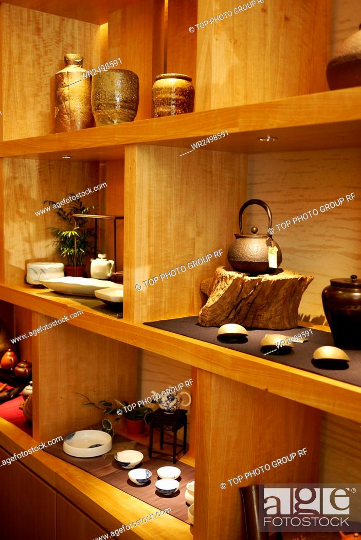 Stock Photo: Heqing aloes and Pu-erh art of living.