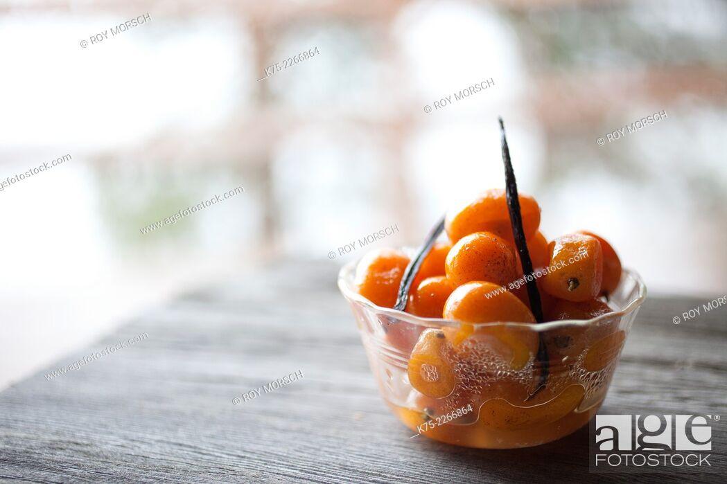 Imagen: Kumquat dessert.