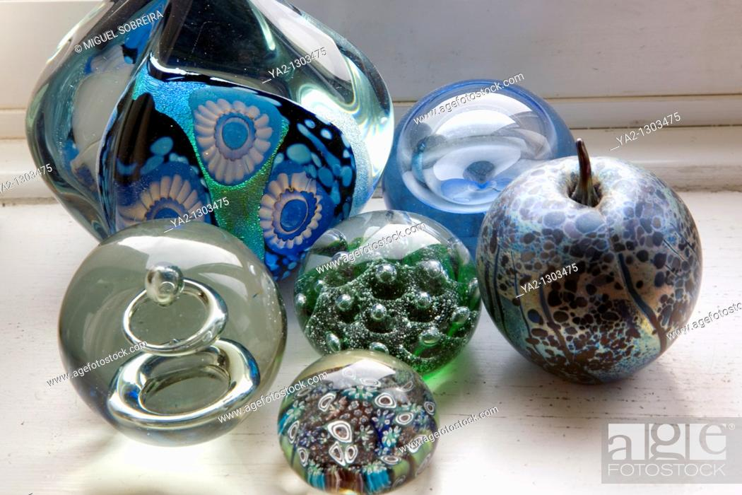 Stock Photo: Paperweights.