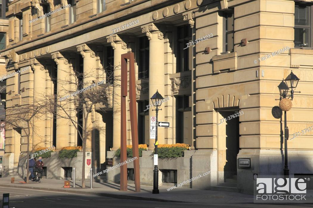 Stock Photo: Canada, Quebec, Montreal, St Paul Hotel, McGill Street, Old Montreal, .