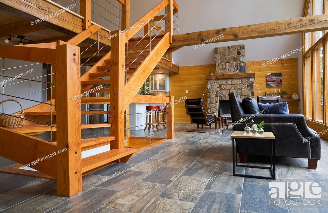 Admirable Modern Designed Pinewood Stairs With Grey Metal Railings Frankydiablos Diy Chair Ideas Frankydiabloscom