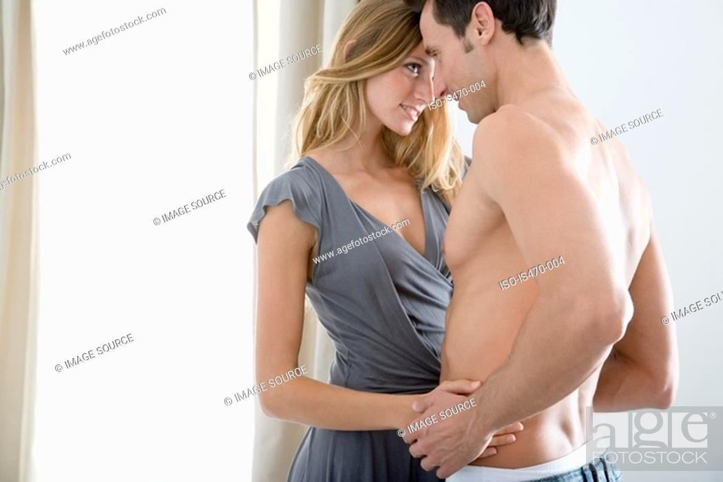 Stock Photo: Loving couple.