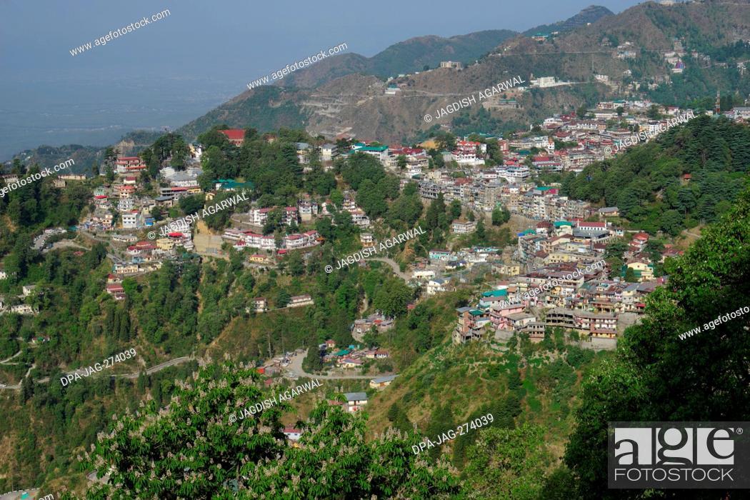 Stock Photo: From Landour, Mussoorie, Uttarakhand, India, Asia.