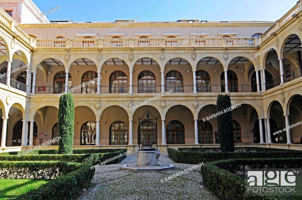Stock Photo: Cross-coat, university in Murcia, Spain, Europe.