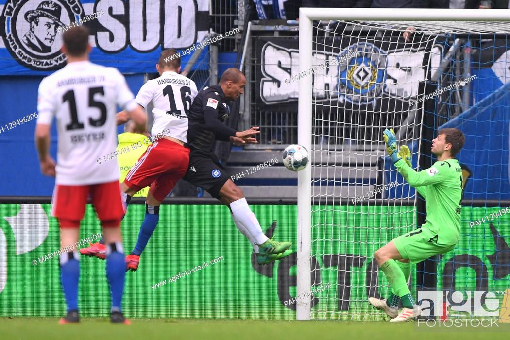 Goal To 1 0 Lukas Hinterseer Hsv Hamburg Hamburg Scores Versus David Pisot Ksc And Goalwart Stock Photo Picture And Rights Managed Image Pic Pah 129496206 Agefotostock