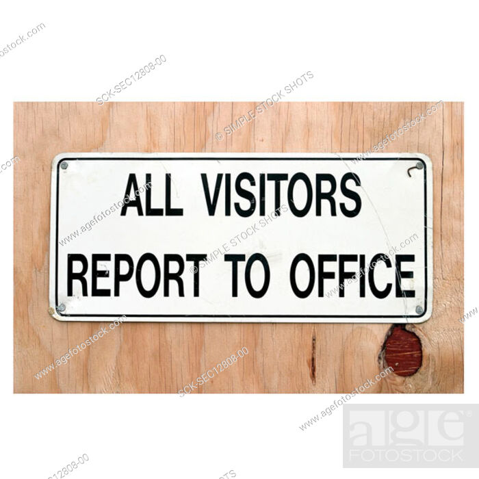 Stock Photo: construction site sign.