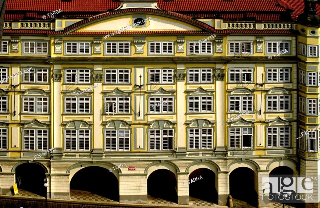 Stock Photo: Building, Prague. Czech Republic.