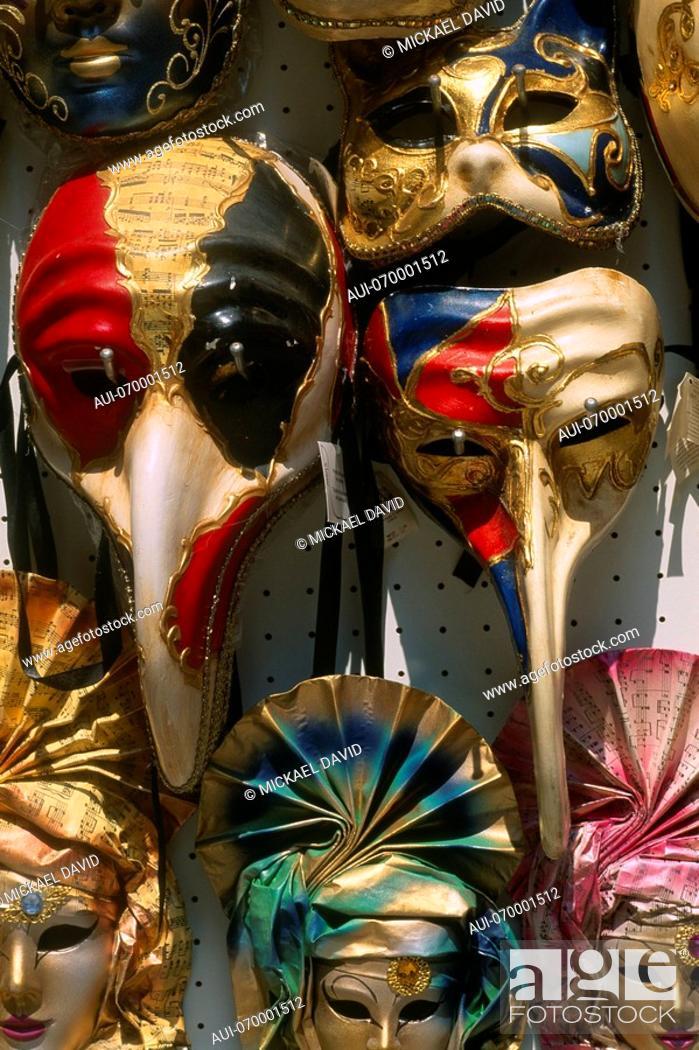 Stock Photo: Italy - Venice - Masks.