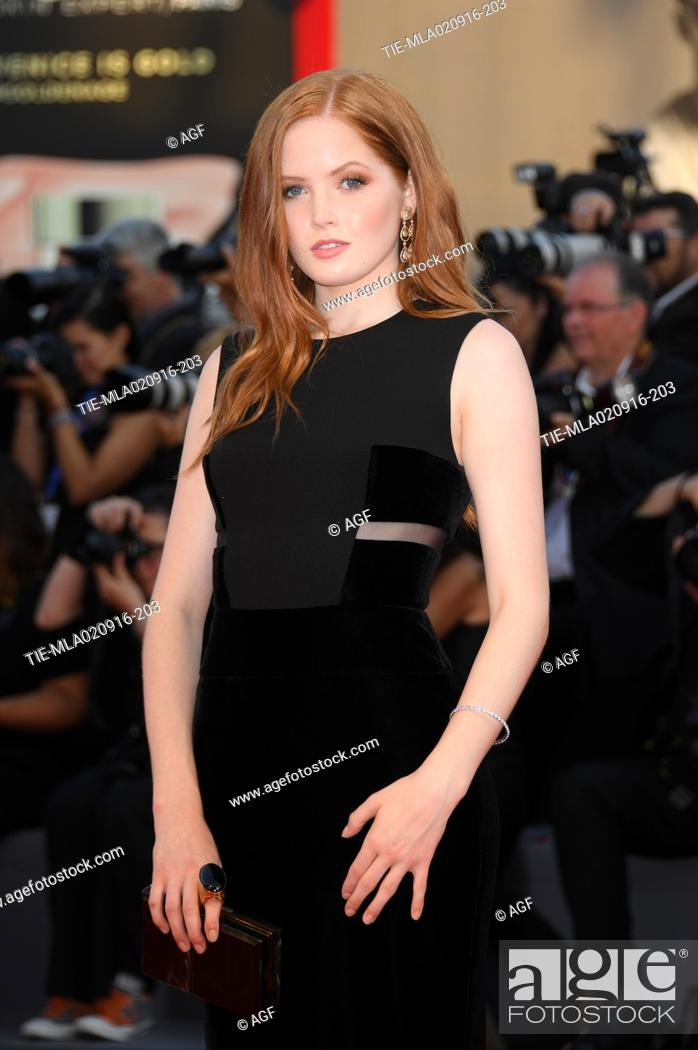 Ellie Bamber Attends Nocturnal Animals Red Carpet At The