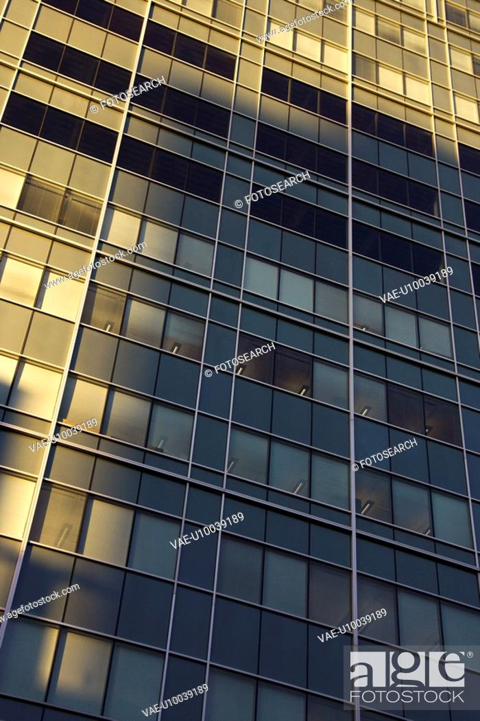 Stock Photo: Side of urban building.