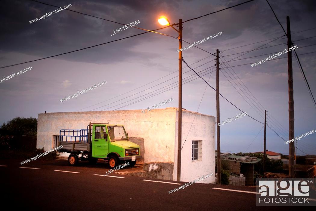 Stock Photo: Village in El Hierro, Canary Islands, Spain.