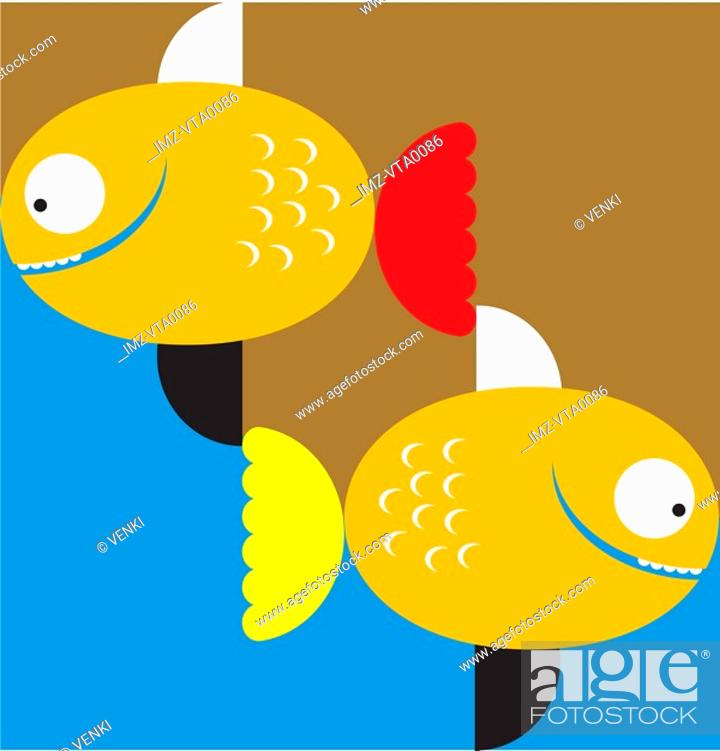 Stock Photo: Pisces the fish.