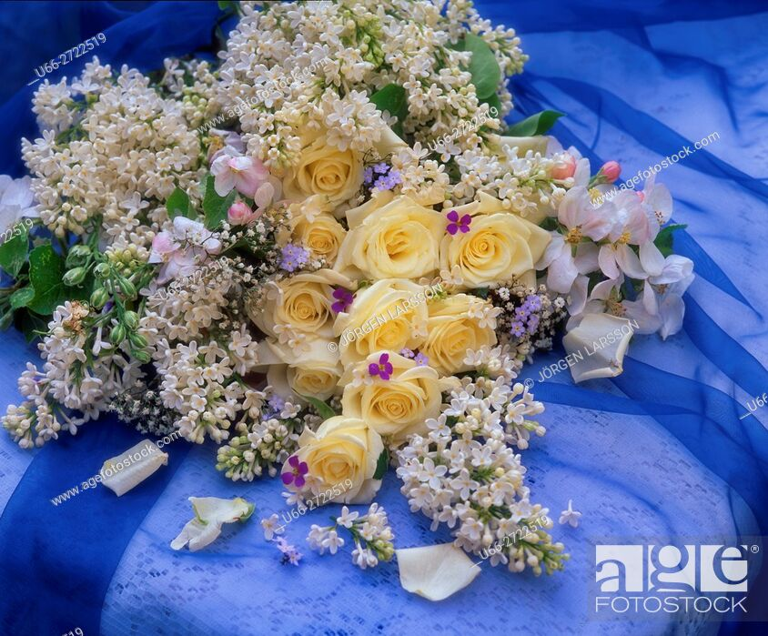 Imagen: Mixed flowers.