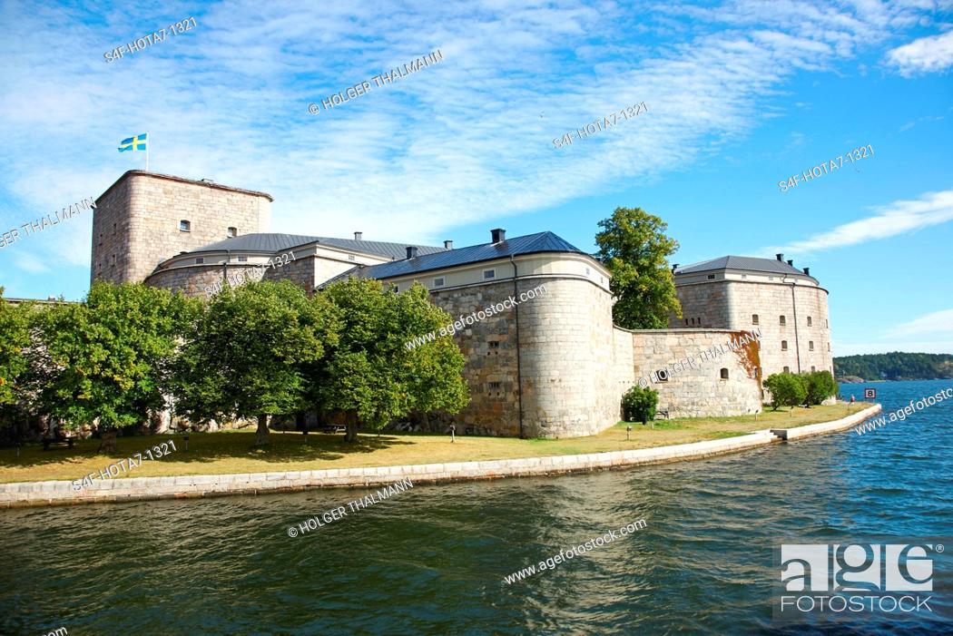 Imagen: Schweden, Vaxholm, Festung.