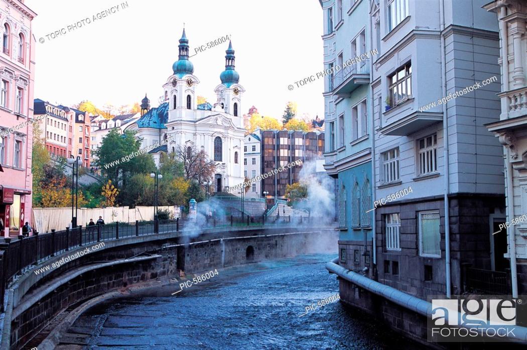 Stock Photo: Karlovy Vary,Czech Republic.