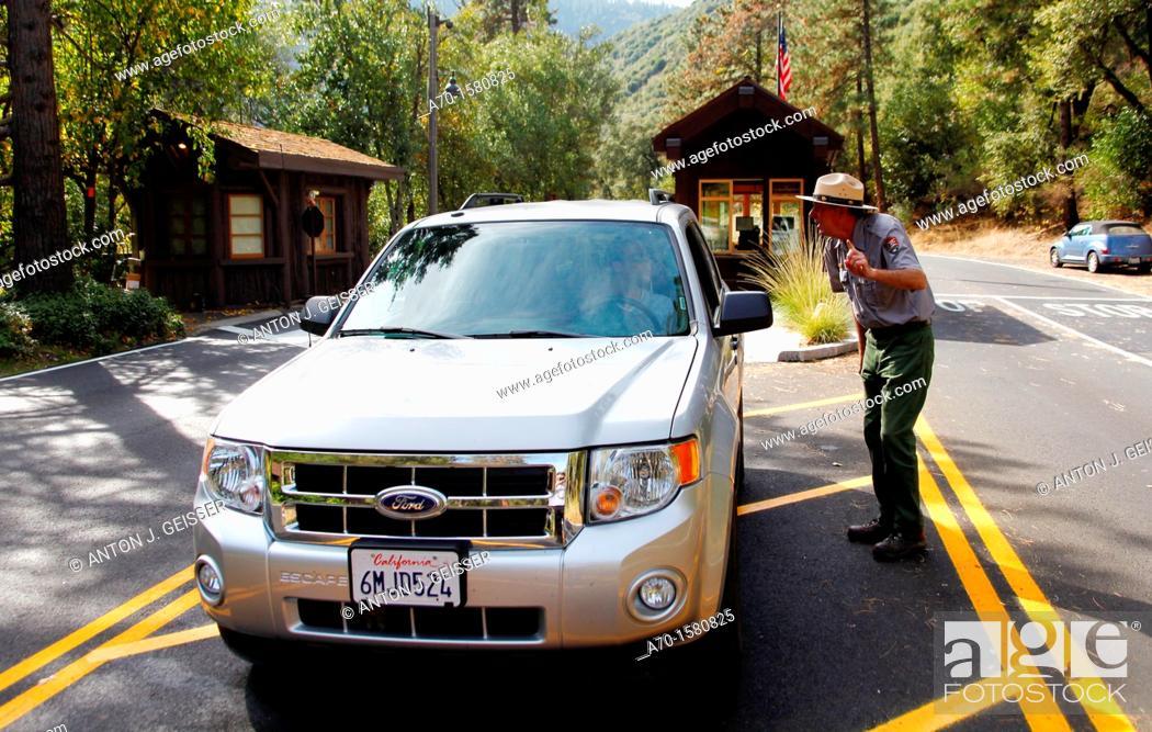 Stock Photo: Yosemite National park USA California.