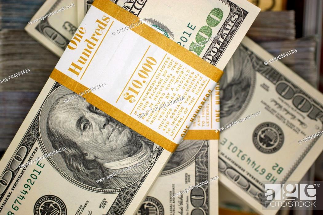 Stock Photo U S Dollars France