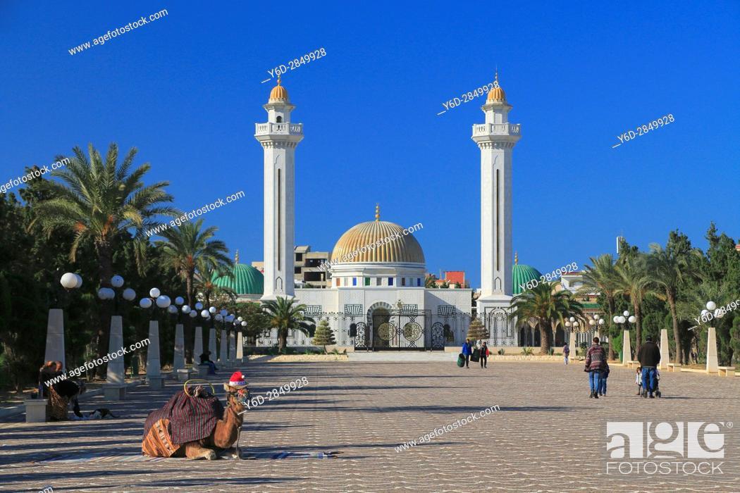 Imagen: Habib Bourguiba Mausoleum, Monastir, Tunisia.