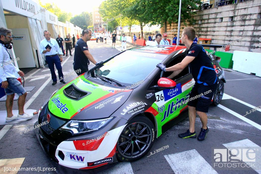 Stock Photo: J. Rodrigues, Honda Civic TCR #26, WTCR Race of Portugal 2018, Vila Real.