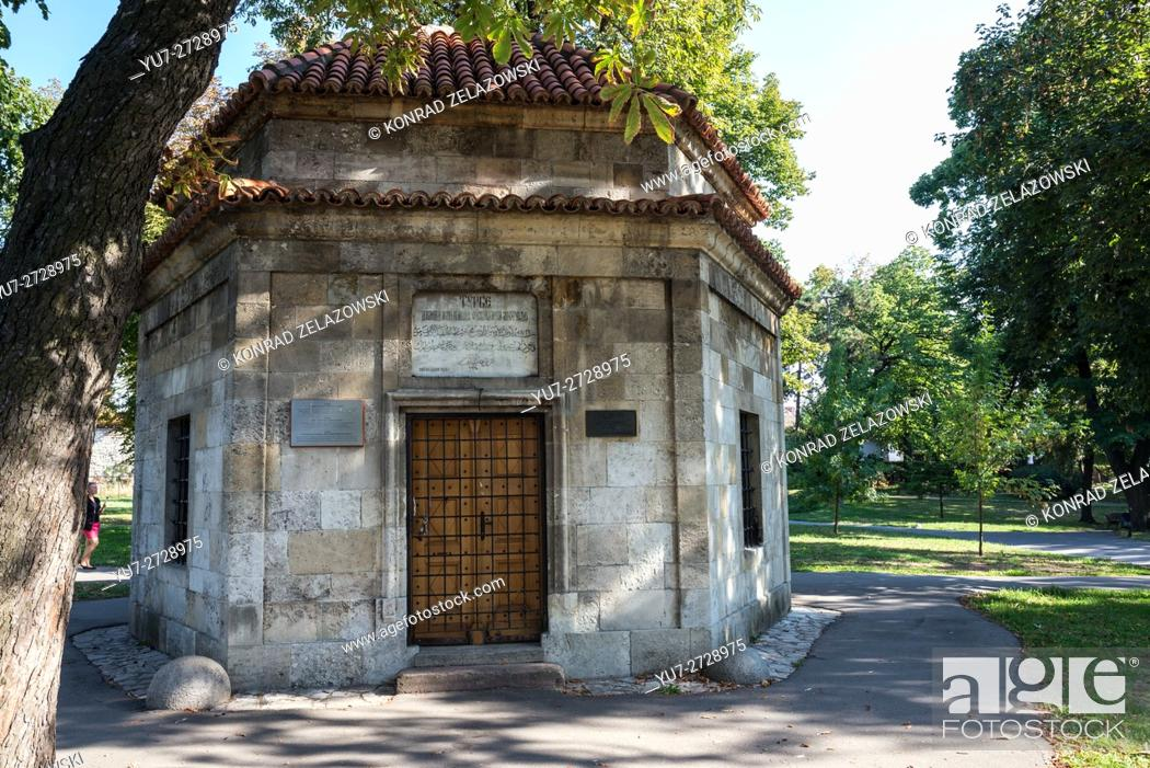 Stock Photo: Silahdar Damat Ali Pasha Turbe (mausoleum) in Upper City of Belgrade Fortressn, Belgrade, Serbia.