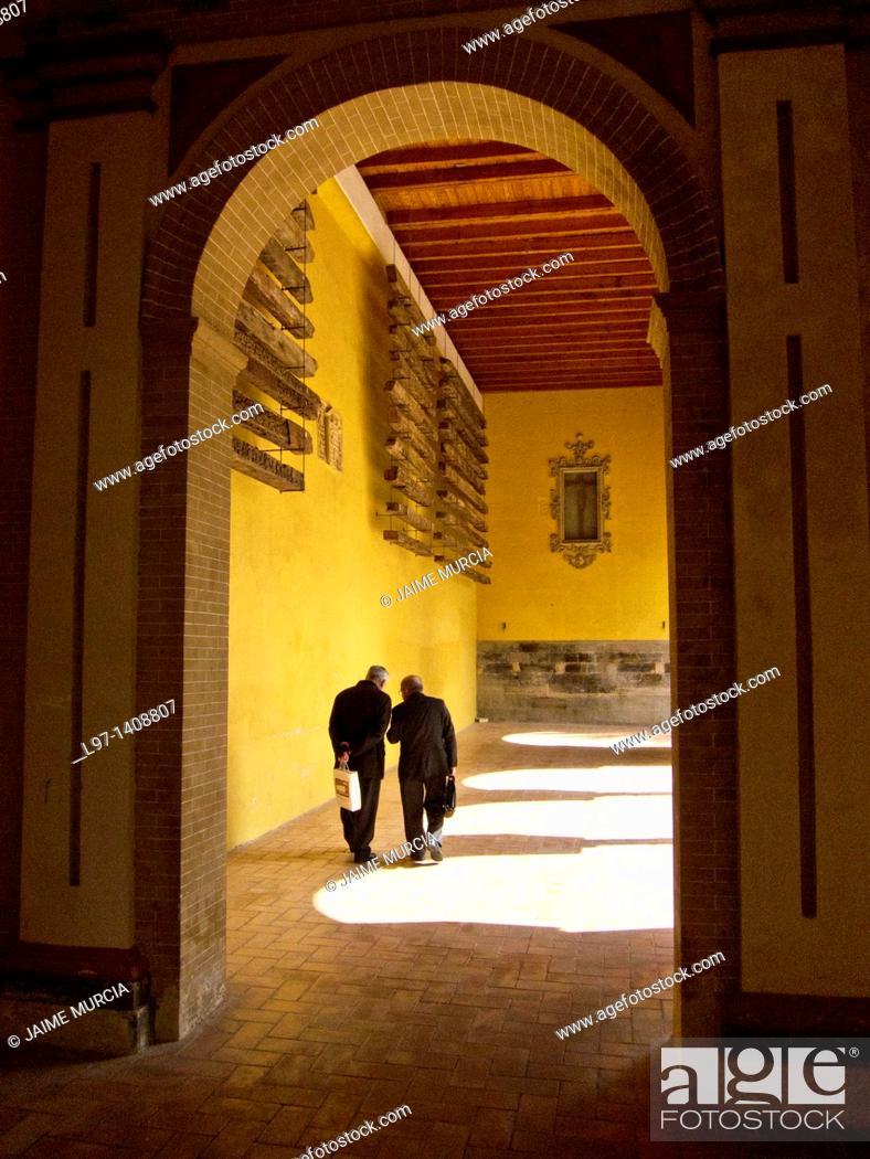 Stock Photo: Great Mosque of Córdoba, la mezquita.