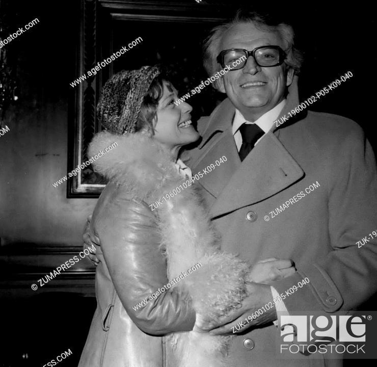 Dec  29, 1974 - Maria Schell & Werner Baecker of German TV