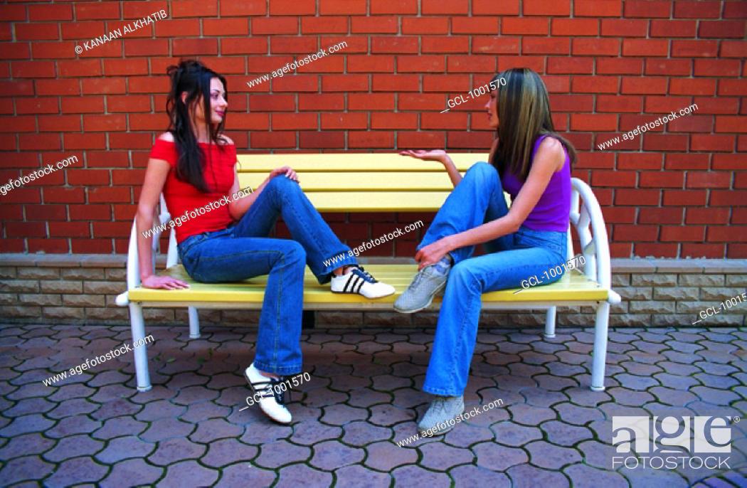 Stock Photo: Women gossiping.