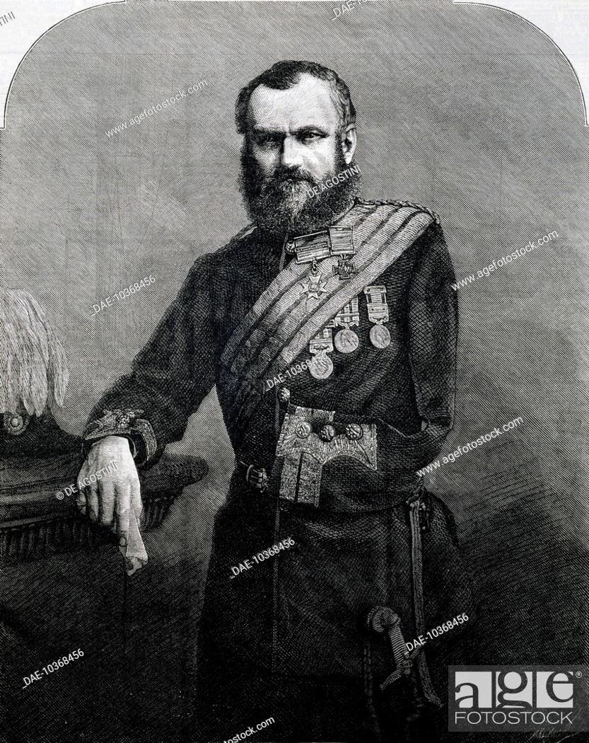 Portrait of Sir Samuel Brown (1824-1901), British general